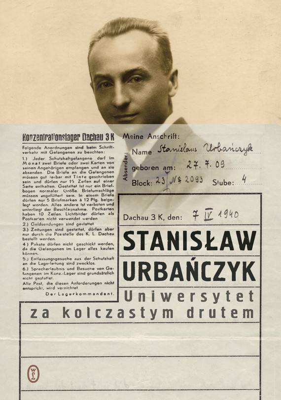 okładka Uniwersytet za kolczastym drutemebook | epub, mobi | Stanisław Urbańczyk