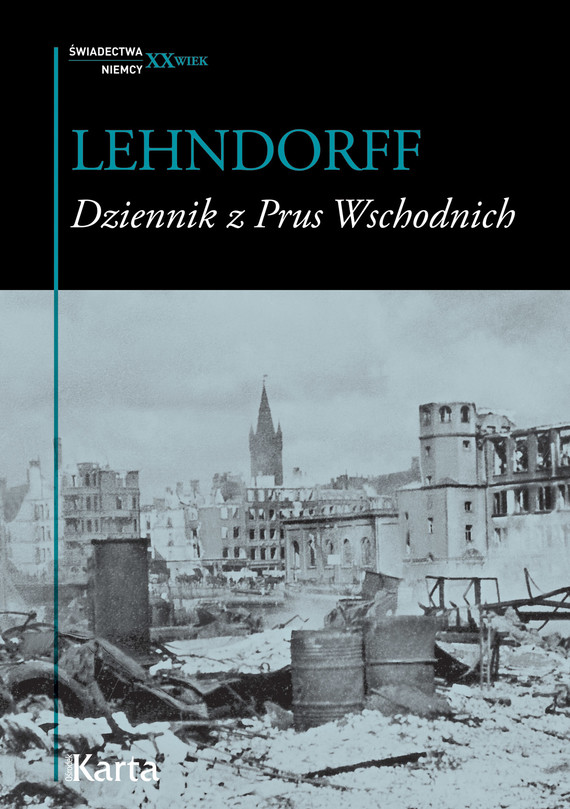 okładka Dziennik z Prus Wschodnich, Ebook   Hans von Lehndorff