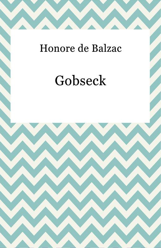 okładka Gobseck, Ebook | Honore De Balzac
