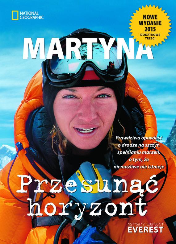 okładka Przesunąć horyzont, Ebook | Martyna Wojciechowska