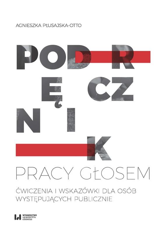 okładka Podręcznik pracy głosem, Ebook   Agnieszka Płusajska-Otto