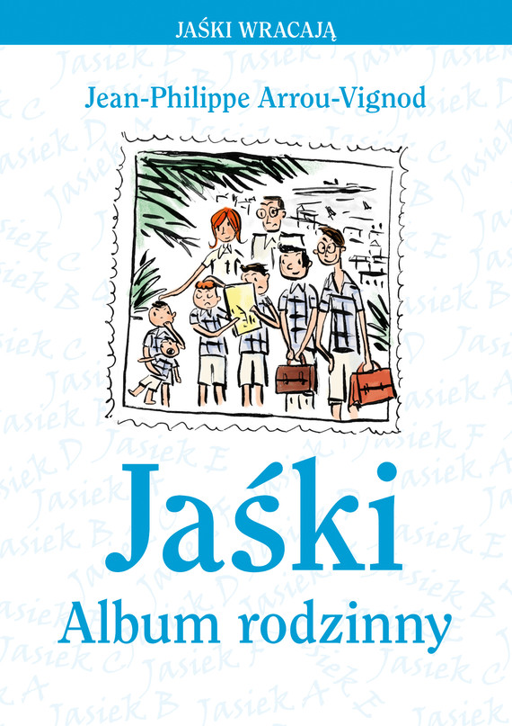 okładka Jaśkiebook | epub, mobi | Jean-Philippe Arrou-Vignod
