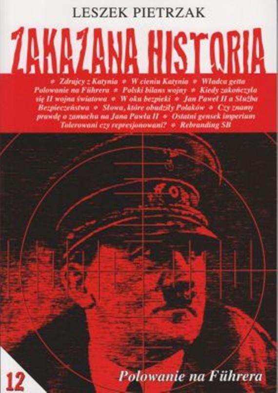 okładka Zakazana historia 12, Ebook | Leszek  Pietrzak