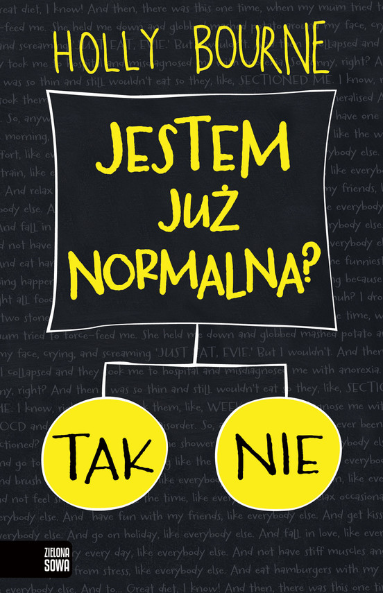 okładka Jestem już normalna?ebook | epub, mobi | Bourne Holly