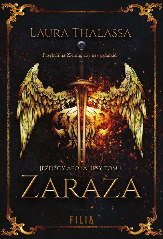 okładka Zaraza, Ebook | Laura Thalassa