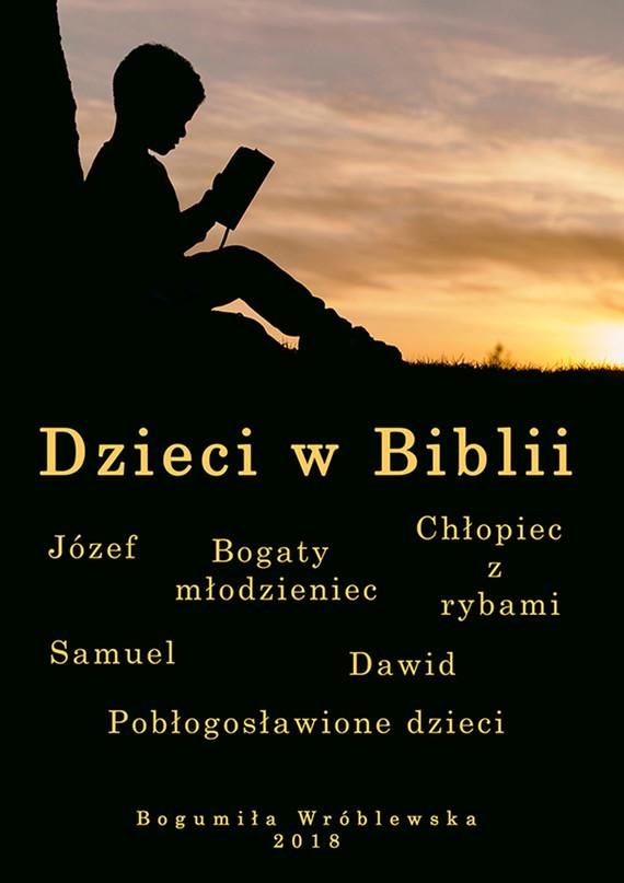 okładka Dzieci w Bibliiebook | epub, mobi | Wróblewska Bogumiła