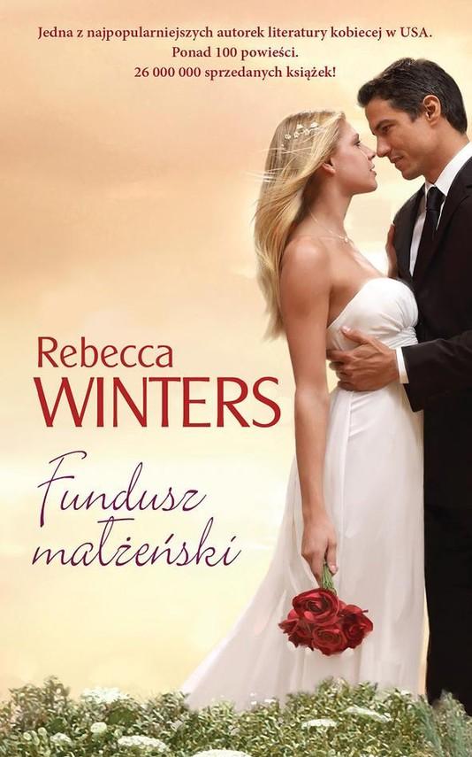 okładka Fundusz małżeńskiebook | epub, mobi | Rebecca Winters