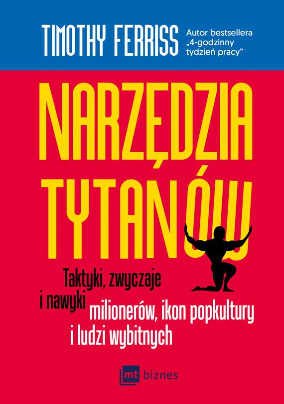 okładka Narzędzia Tytanówebook | epub, mobi | Timothy Ferriss