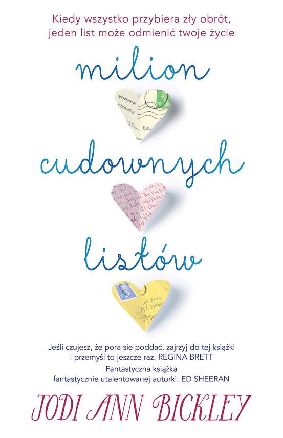 okładka Milion cudownych listów, Ebook | Jodi Ann Bickley