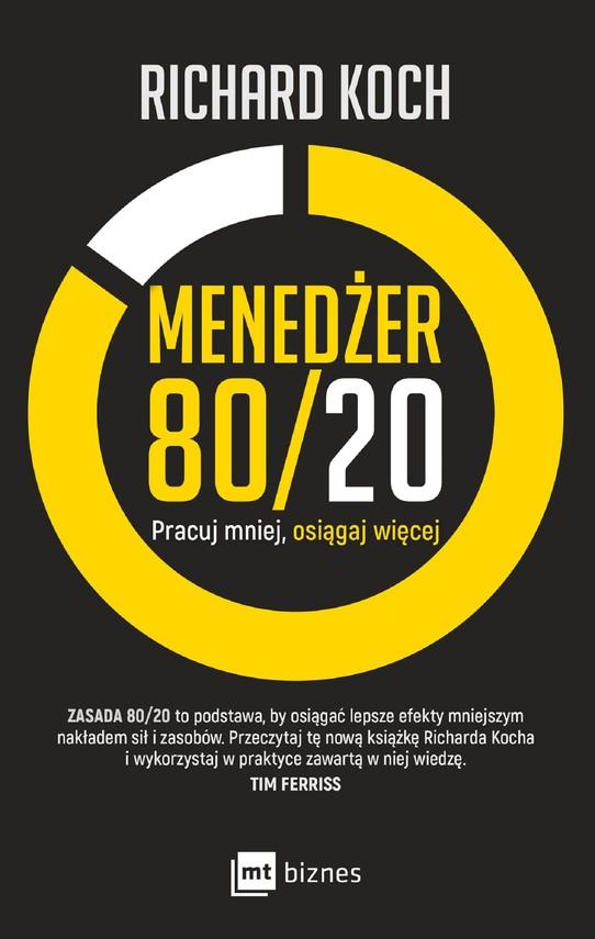 okładka Menedżer 80/20, Ebook | Richard Koch