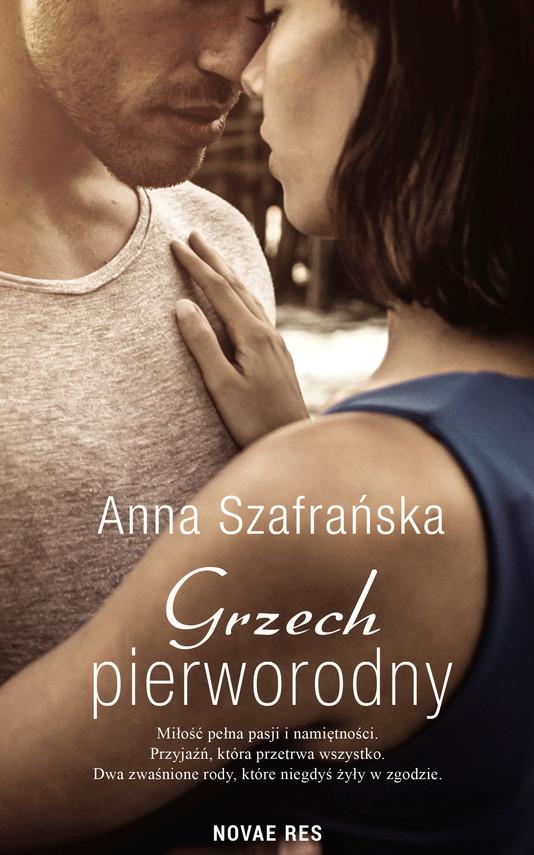 okładka Grzech pierworodny, Ebook   Anna Szafrańska
