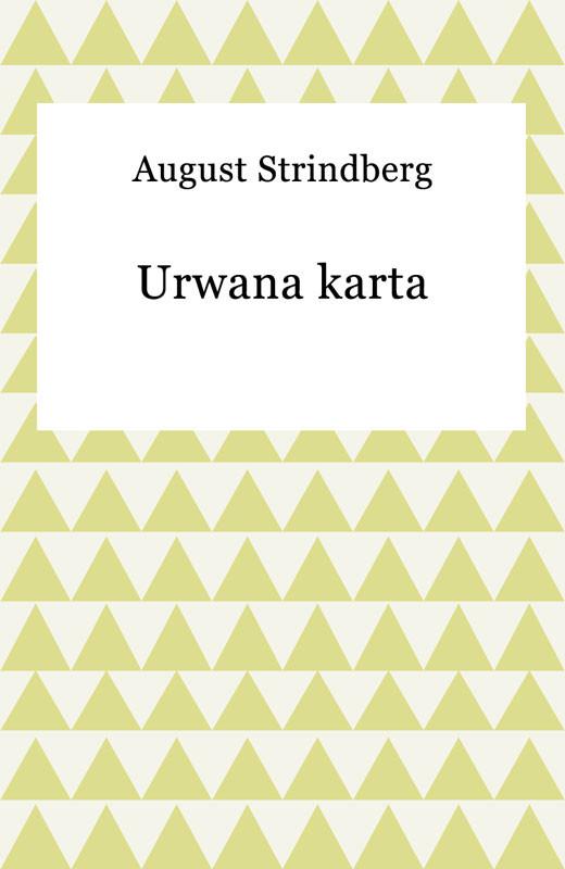 okładka Urwana karta, Ebook | August Strindberg