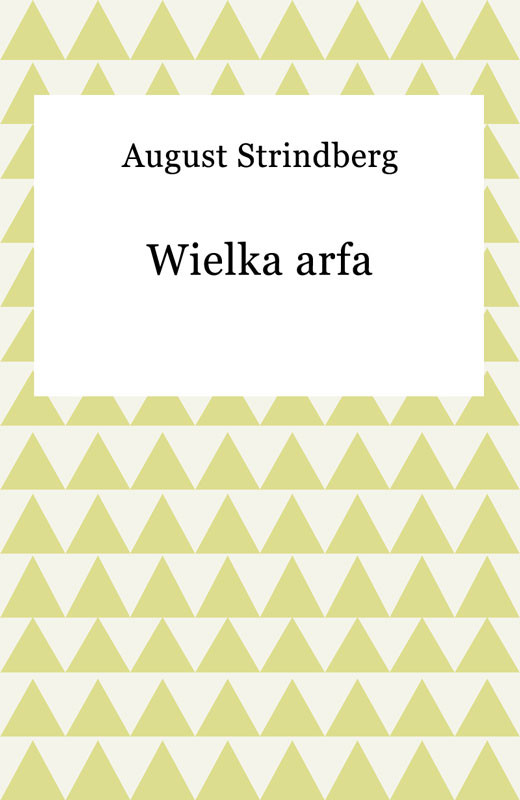 okładka Wielka arfaebook | epub, mobi | August Strindberg