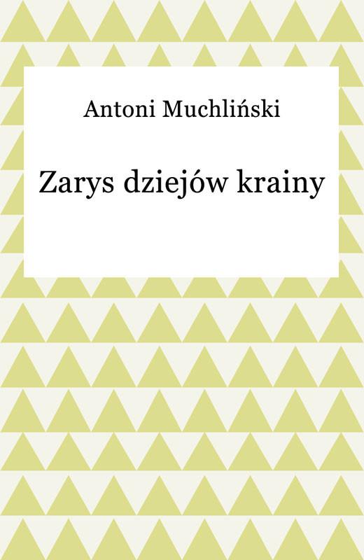 okładka Zarys dziejów krainyebook | epub, mobi | Antoni Muchliński