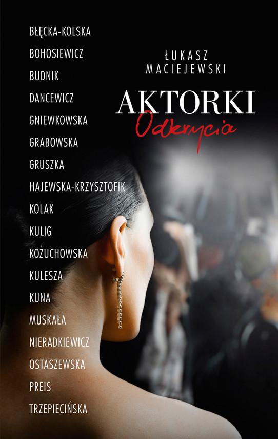okładka Aktorkiebook | epub, mobi | Łukasz Maciejewski