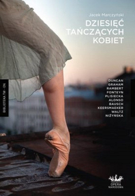 okładka Dziesięć tańczących kobiet, Ebook | Jacek Marczyński