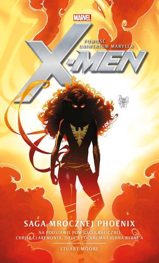 okładka Marvel: X-Men. Saga Mrocznej Phoenix, Ebook | Stuart Moore