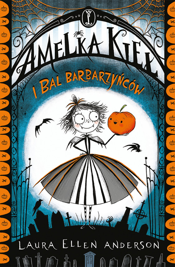 okładka Amelka Kieł i Bal Barbarzyńców, Ebook | Laura Ellen Anderson