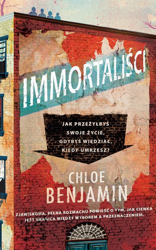 okładka Immortaliściebook | epub, mobi | Chloe Benjamin
