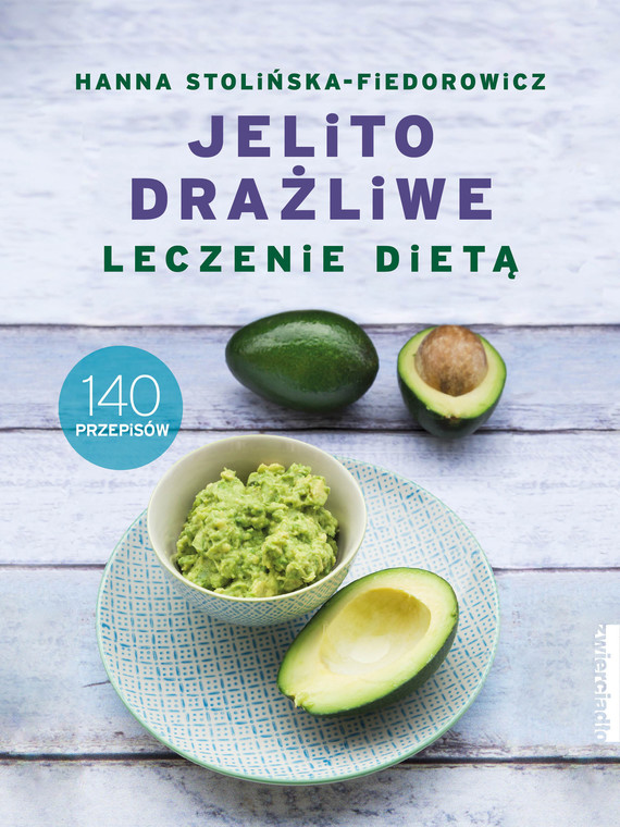 okładka Jelito drażliwe. Leczenie dietą.ebook | epub, mobi | Stolińska-Fiedorowicz Hanna