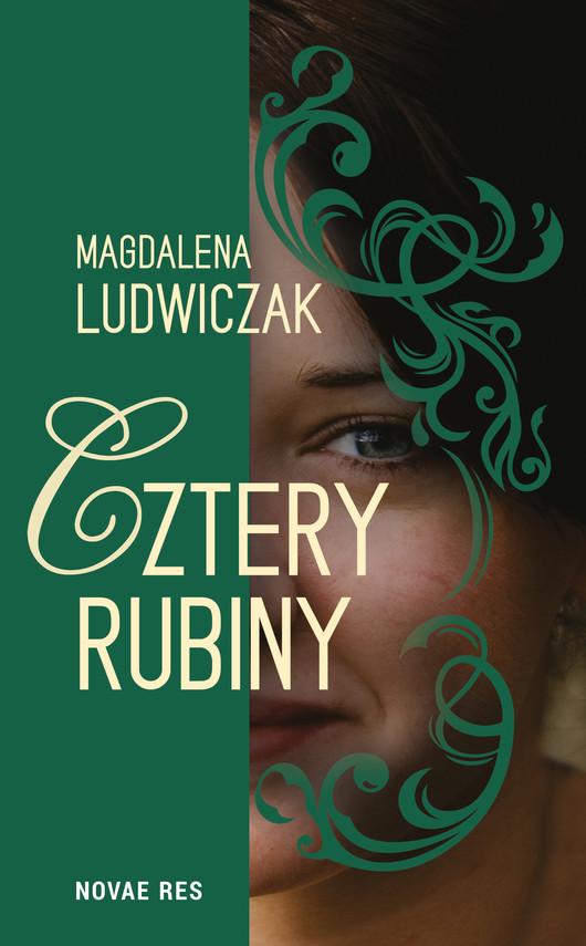 okładka Cztery rubiny, Ebook | Magdalena Ludwiczak