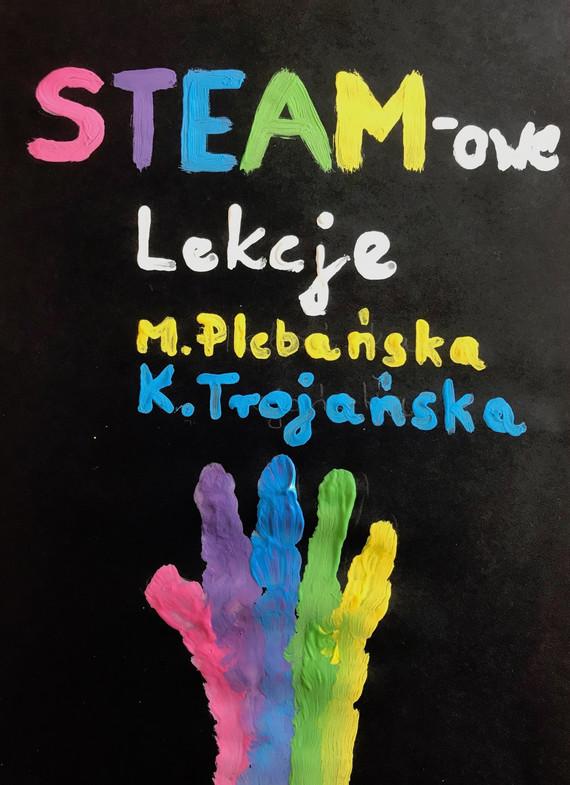 okładka STEAM-owe Lekcjeebook | epub, mobi | Plebańska Marlena, Katarzyna Trojańska