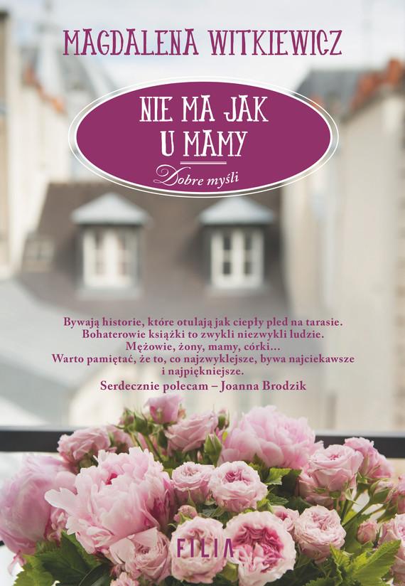 okładka Nie ma jak u mamyebook | epub, mobi | Magdalena Witkiewicz