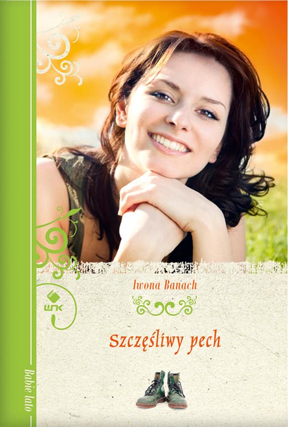 okładka Szczęśliwy pech, Ebook | Iwona Banach