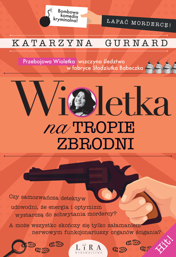okładka Wioletka na tropie zbrodniebook   epub, mobi   Gurnard Katarzyna