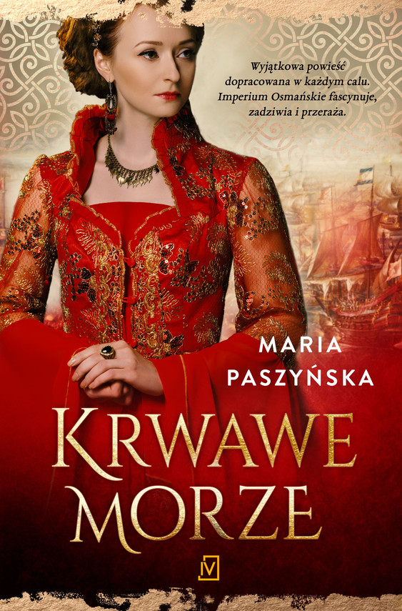okładka Krwawe morzeebook | epub, mobi | Maria  Paszyńska