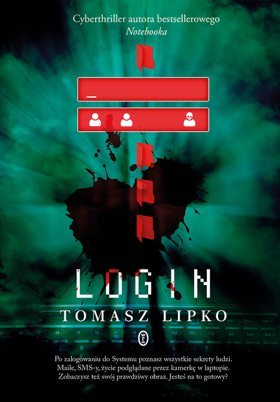 okładka Loginebook | epub, mobi | Tomasz Lipko