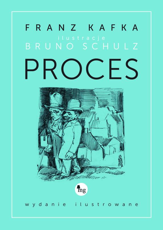 okładka Proces - wydanie ilustrowane, Ebook | Franz Kafka