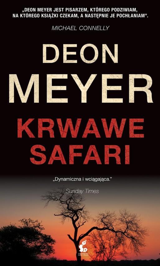 okładka Krwawe safariebook   epub, mobi   Deon Meyer