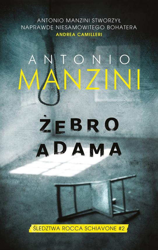 okładka Żebro Adama, Ebook | Antonio Manzini