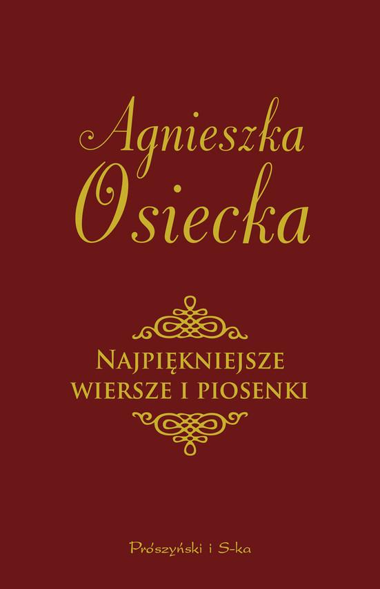 okładka Najpiękniejsze wiersze i piosenki, Ebook   Agnieszka Osiecka