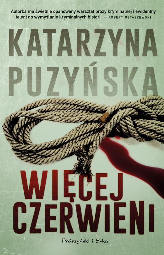 okładka Więcej czerwieni, Ebook | Katarzyna Puzyńska