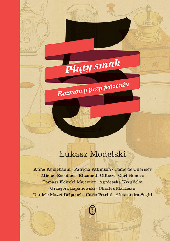 okładka Piąty smak. Rozmowy przy jedzeniu, Ebook | Łukasz Modelski