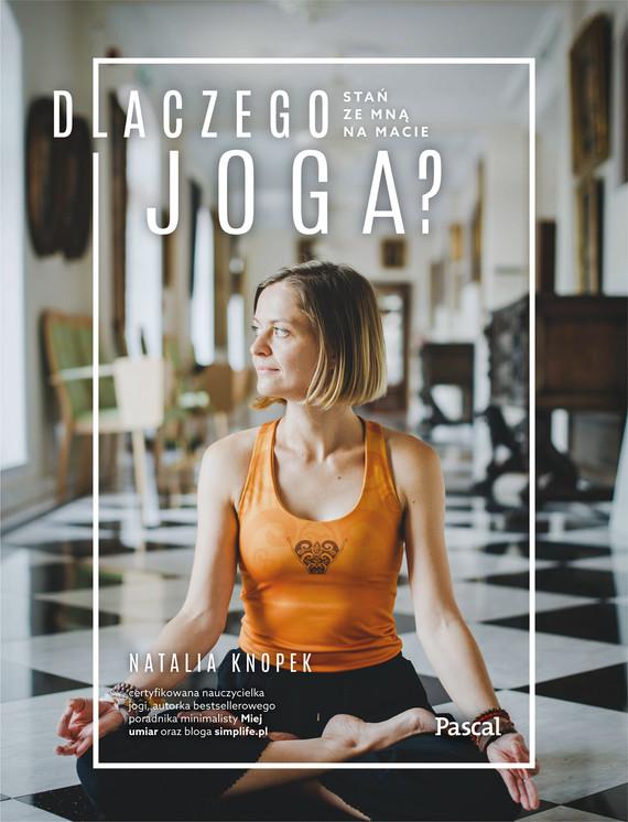 okładka Dlaczego jogaebook | epub, mobi | Natalia Knopek