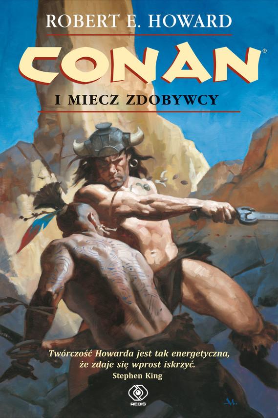 okładka Conan (#3). Conan i miecz zdobywcy, Ebook   Robert E. Howard