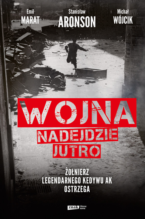 okładka Wojna nadejdzie jutroebook   epub, mobi   Michał Wójcik, Emil Marat, Stanisław Aronson