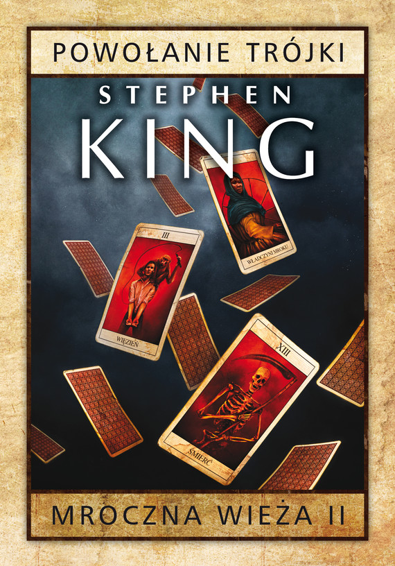 okładka Mroczna Wieża II: Powołanie Trójkiebook | epub, mobi | Stephen King