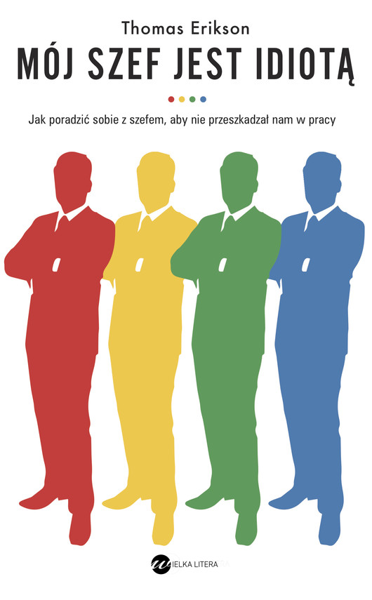 okładka Mój szef jest idiotąebook | epub, mobi | Thomas Erikson