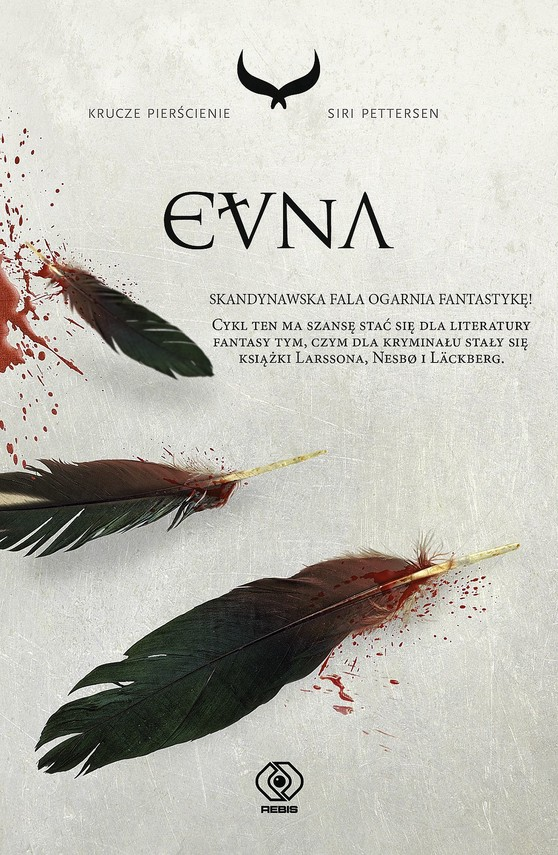 okładka Krucze pierścienie (#3). Evna, Ebook | Siri Pettersen