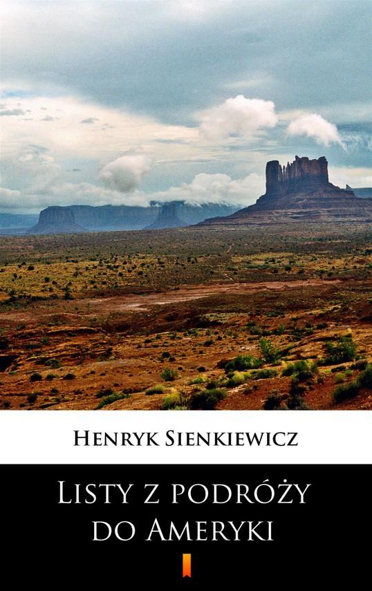 okładka Listy z podróży do Ameryki, Ebook   Henryk Sienkiewicz