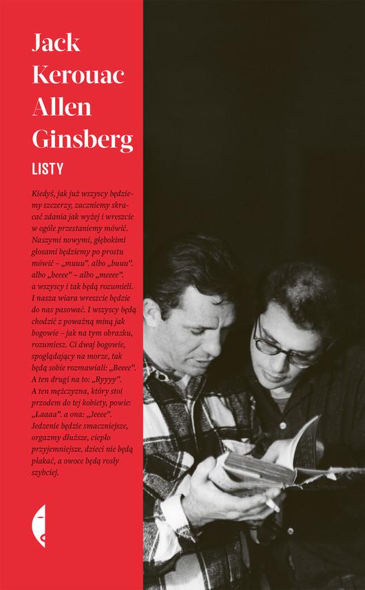 okładka Listyebook | epub, mobi | Allen  Ginsberg, Jack Kerouac