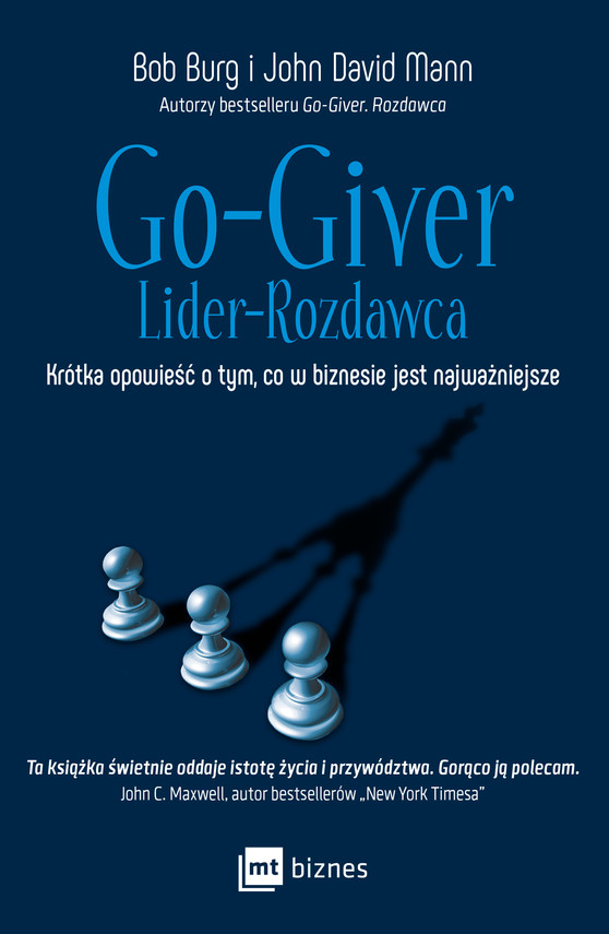 okładka Go-Giver. Lider-Rozdawcaebook | epub, mobi | Bob Burg, John David Mann