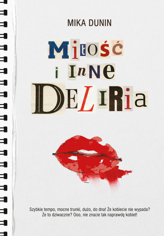 okładka Miłość i inne deliriaebook | epub, mobi | Mika Dunin