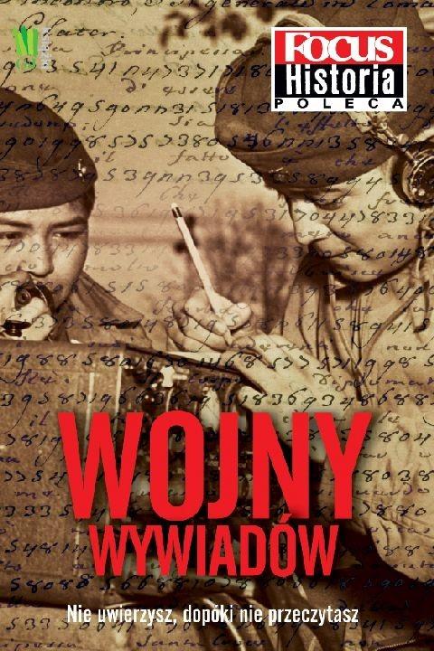 okładka Wojny wywiadów. Focus Historiaebook | epub, mobi | autor zbiorowy