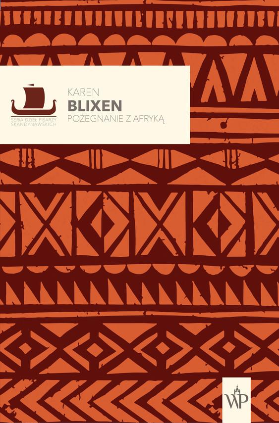okładka Pożegnanie z Afrykąebook | epub, mobi | Blixen Karen