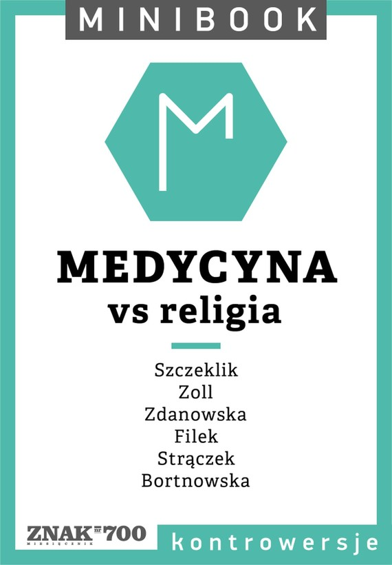 okładka Medycyna [vs religia]. Minibookebook   epub, mobi   autor zbiorowy